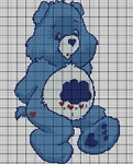 Care Bears Grumpy Bear Crochet Pattern
