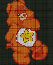 Care Bears Laugh A Lot Bear Crochet Pattern