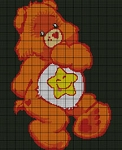 Care Bears Laugh A Lot Bear Crochet Pattern