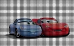 Cars Sally & Lightning McQueen Crochet Pattern