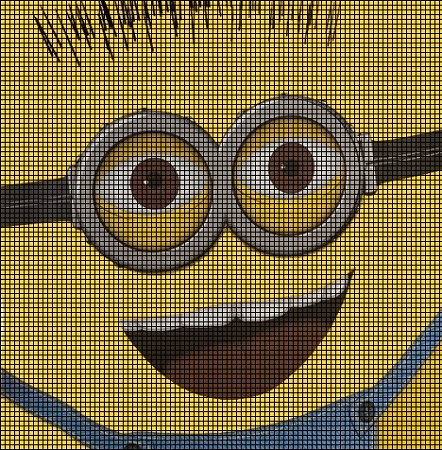 Minion Big Face Crochet Pattern