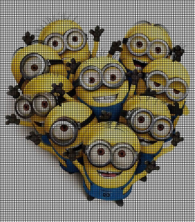 The Minions Group Crochet Pattern