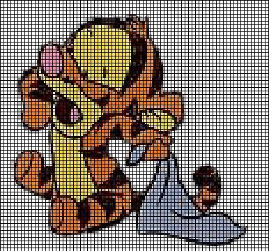 Baby Tigger Crochet Pattern