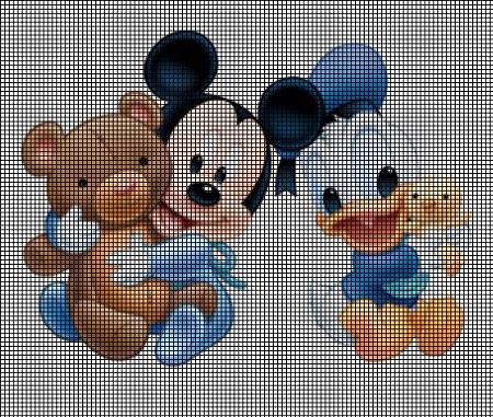 Disney Babies Crochet Pattern