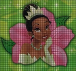 Princess Tiana Flower Crochet Pattern