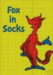 Fox In Sox Crochet Pattern