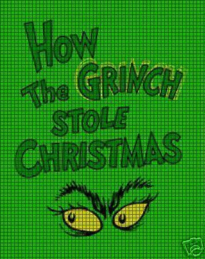 Grinch Eyes Crochet Pattern