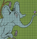 Horton Himself Crochet Pattern