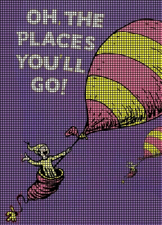 oh the places youll go crochet pattern