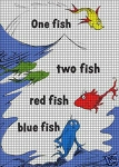 One Fish Two Fish Crochet Pattern