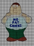 No Fat Chicks Crochet Pattern
