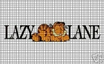 Lazy Lane Cat Crochet Pattern