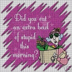 Did You Eat Crochet Pattern