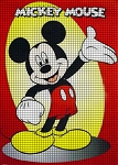 Hello There Mickey Mouse Crochet Pattern