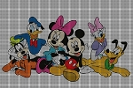 Disney Group Crochet Pattern