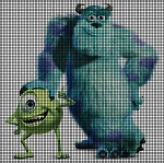 Monsters University Crochet Pattern