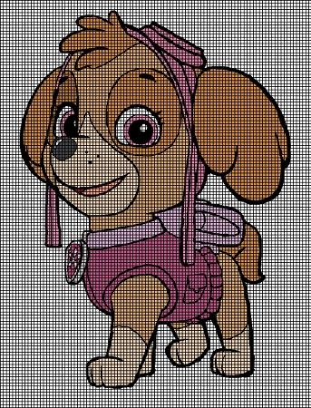Knitting Pattern Paw Patrol : Skye Stands Tall Crochet Pattern