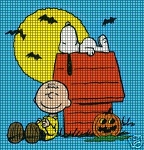 Peanuts Halloween Crochet Pattern