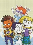 Rugrats Grown Up Crochet Pattern
