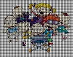 Rugrats Group Picture Crochet Pattern