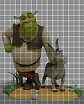 Shrek and Donkey Crochet Pattern