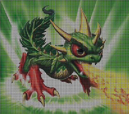 Skylanders Camo The Dragon Crochet Pattern