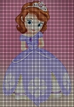 Sofia The First Crochet Pattern