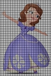 Sofia The First That's Me Crochet Pattern