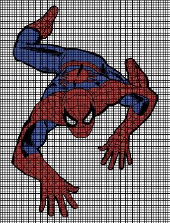 Spiderman Crochet Pattern