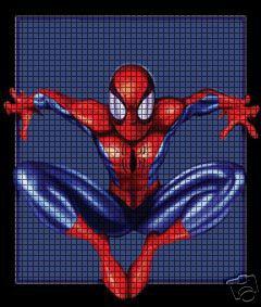 Spiderman Jump Crochet Pattern