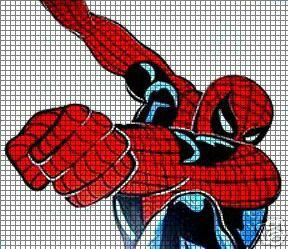 Spiderman Punch Crochet Pattern