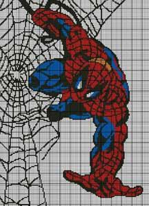 Spiderman Web Crochet Pattern