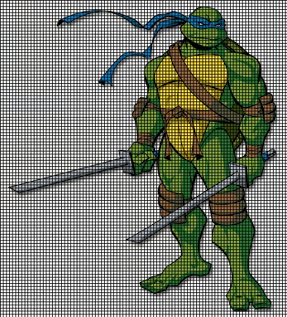 Ninja Turtle Crochet Blanket Pattern Ninja Turtle Crochet Blanket