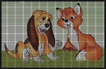 The Fox & the Hound Crochet Pattern