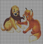 Todd & Copper Play Crochet Pattern