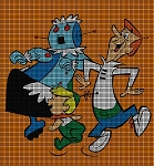 Jetsons Dance Crochet Pattern