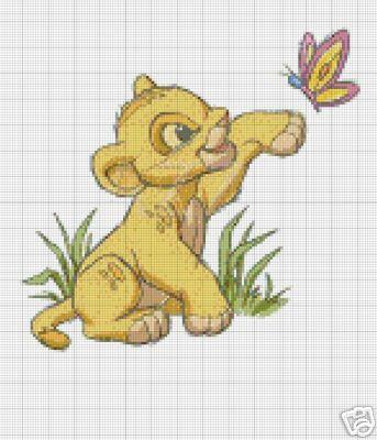 Baby Simba Crochet Pattern