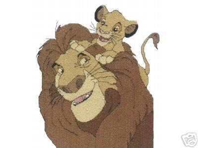 Lion King Simba Crochet Pattern