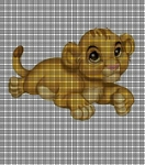 Little Simba Crochet Pattern
