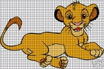 Simba Laying Down Crochet Pattern