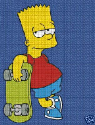 Pin Bart Simpson Skateboard Wallpaper On Pinterest Skateboarding