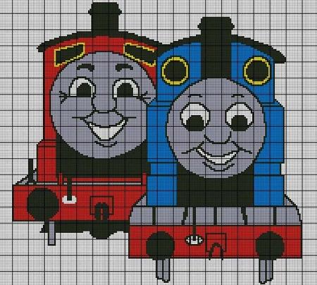 Thomas And James Crochet Pattern
