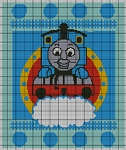 Thomas The Tank Engine Blue Crochet Pattern
