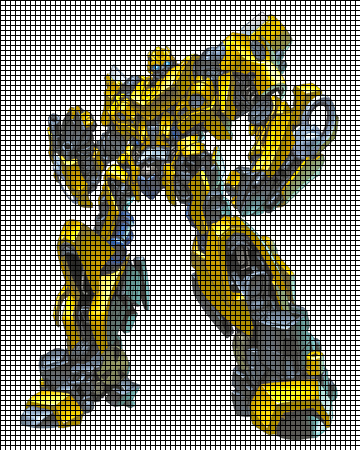 Bumble Bee Transformer Crochet Pattern