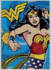 Wonder Woman Running Crochet Pattern