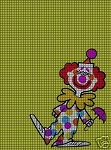 Kaboom Clown Crochet Pattern