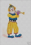 Musician Clown Crochet Pattern