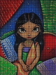 Hindu Princess Crochet Pattern