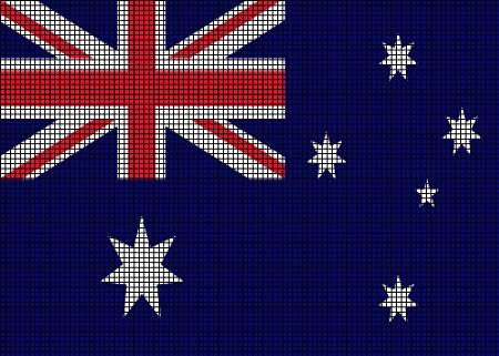 Australia Flag Crochet Pattern