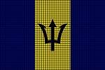 Barbados Flag Crochet Pattern